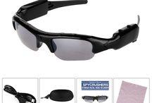 SpyCrushers Spy Camera Sunglasses / Spy Camera Sunglasses by SpyCrushers