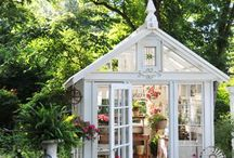 Tiny houses and shedds i love / Amasing little houses