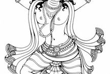 Drawings - Indian Divyakala