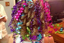 Crazy hair idea