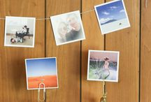 Print Your Photos / Don't forget to print your photos! This board offers inspiration to get those photos off of your computer and onto the walls.