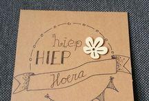 Handlettering - eigen creaties