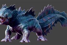 Basilisk/dragon