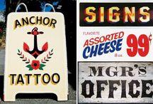 Vintage Signage