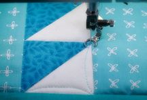 Quilting 1/2 square triangles