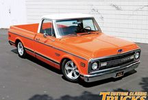 Classic Pickups / Late 50's - early 70's  Pickup Trucks / by Brian Daniel