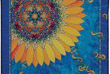 blue jean sun quilt