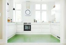 Køkken gulv