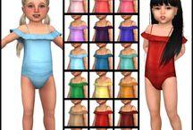 Sims 4 cc toddler clothes