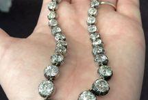 Collier diamanti '800