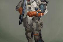 cosmonaut, cosmic space