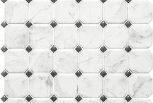 Classico Collection / A marble-look porcelain tile series.