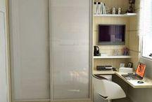 Montar os quartos do apartamento