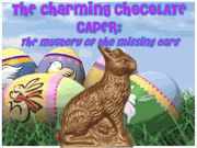 The Charming Chocolate Caper: The Mystery of the Missing Ear.  Mystery Party (non-murder) / A fun filled non-murder family Easter mystery party for all ages - 8-16+ guests. Perfect for any group and any Easter occasion! Due to the moderate difficulty level, if this party is for all children (with children playing the adult roles), the suggested ages would be 12+ years. Otherwise, if adults are playing the adult roles, as long as the kids can read - they can play the kids' roles!
