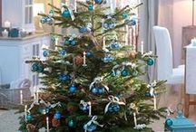 Kék karácsonyfa