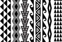formas Maori desenhos