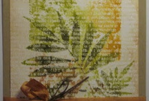 stamping and inks / by Elaine Akers