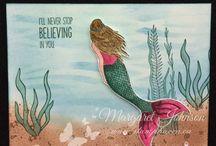 Stampin Up Magical Mermaid