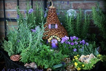 fairy houses and gardens / by Vicki Jones
