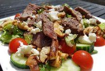 biefstuk salades