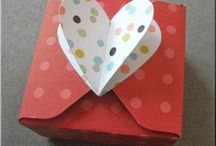 envelope punch board / box punch board