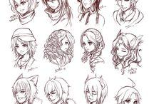 Art drawings sketches