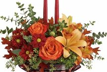 Thanksgiving Centerpieces & Tablescapes / So thankful! We are excited to share fall flowers and decor ideas that inspire gorgeous tablescapes and Thanksgiving celebration decor. For more visit www.CampbellsFlower.com