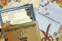 #RecipeClippings / #RecipeClippings is a blog challenge at Farmersgirl Kitchen to encourage us to make the recipes we have clipped from magazines and newspapers as well as those we have written on scraps of paper or collected from our friends and family.  I'll be pinning the recipes that my foodie friends make and share.