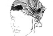 Sombreros, tocados, pañuelos