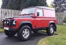 Land Rover defender 90 drøm