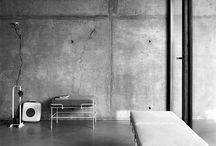 Concrete in interior