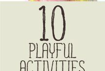 Kids Activities & Crafts / Crafts, fun activities, motivational