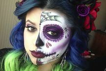Day of the dead makeup / by ℐennifer Torres