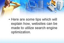 Search Engine Optimization / Valentino Crawford's pins of information as it relates to search engine optimization, or seo.