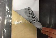 Kuva puu pintaan