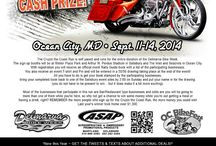 Delmarva Bike Week / ASAP is a huge sponsor at the annual Delmarva Bike Week.  Check out additional details, updates or get tweets on Bike Week & Cruzin' the Coast Cash Prize Ride sent right to your phone at: http://www.asapstuff.com/index.cfm?ref=19100