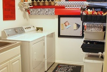 Bath & Laundry room / by Catherine Stover
