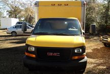 Used 2004 GMC 3500 for Sale ($9,350) at Waverly, GA / Make:  GMC, Model:  3500, Year:  2004, Exterior Color: Yellow, Interior Color: Black, Doors: Three Door, Vehicle Condition: Very Good,  Mileage:103,000 mi, Engine: 8 Cylinder, Transmission: Automatic, Fuel: Gasoline, Drivetrain: 2 wheel drive - rear, Non Smoking, Well Maintained, Regular oil changes.   Contact; 912-242-2222   Car Id (56692)