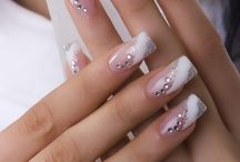 Bridal/Wedding nails / by Wendy Mirabella