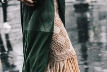 Elegant street style / Perfect looks for a special day