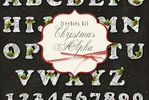 DIGISCRAP/ Alphabets