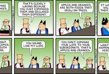 Funny Dilbert / www.nninoss.com / by Ninos Youkhana