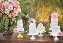 Cake & Candy Tables / Enjoy the beautiful pictures of the cake and candy tables we have decorated