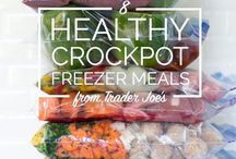 Slow Cooker and Freezer Meals / Perfect for dinner guests, when you're under the weather or don't have time to make a meal. Your slow-cooker can be your best friend.