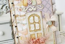 Mini albums, journals and altered books