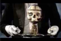 "IN SEARCH OF ""HOLY GRAIL"" FROM THE SKULL OF JESUS CHRIST / IN SEARCH OF THE CUP FROM SKULL OF JESUS CHRIST"