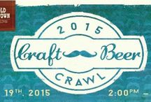 Craft Beer Crawl / New Event in Old Town Clovis, California Sunday, April 19
