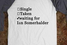 TVD + Ian Somerhalder