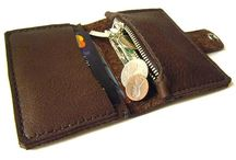wallet minimalist with coin pocket