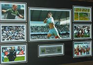 Manchester City Autographs / Signed Limited Edition Manchester City Memorabilia